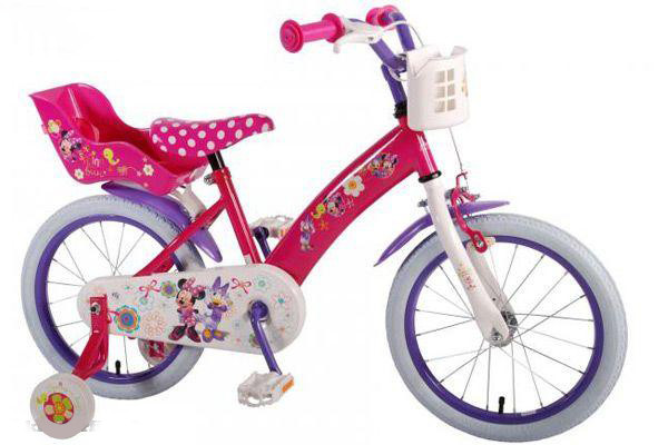 Disney Minnie bow tiq 16 inch kinderfiets.