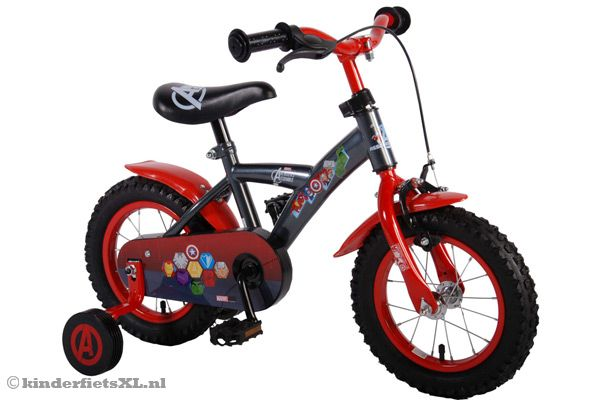 Marvel Avengers 12 inch kinderfiets.