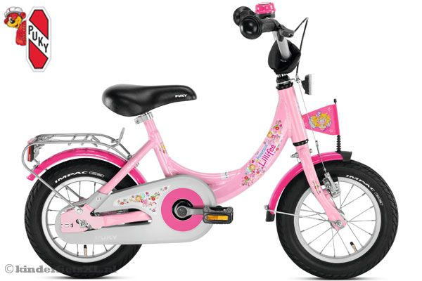 Puky 12 inch kinderfiets Prinses Lillifee.